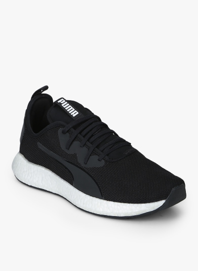 puma shoes in black